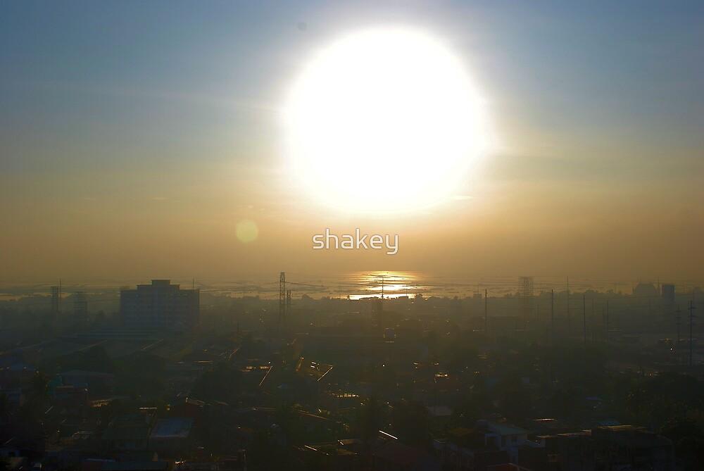 Manila sunrise by shakey