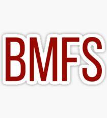Plain BMFS Sticker