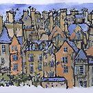 Edinburgh painting by jennyjeffries