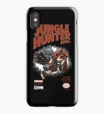 Super Jungle Hunter iPhone Case/Skin