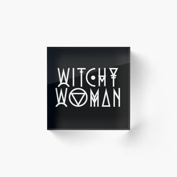 Witchy Woman Acrylic Block