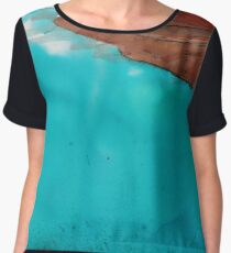Boat on the ocean Chiffon Top