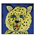 Cheetah by Morgan Luce by Crayons Markers and Paint
