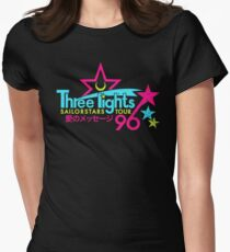 Three Lights Sailorstars Tour '96 Women's Fitted T-Shirt