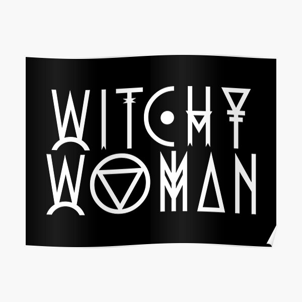 Witchy Woman Poster