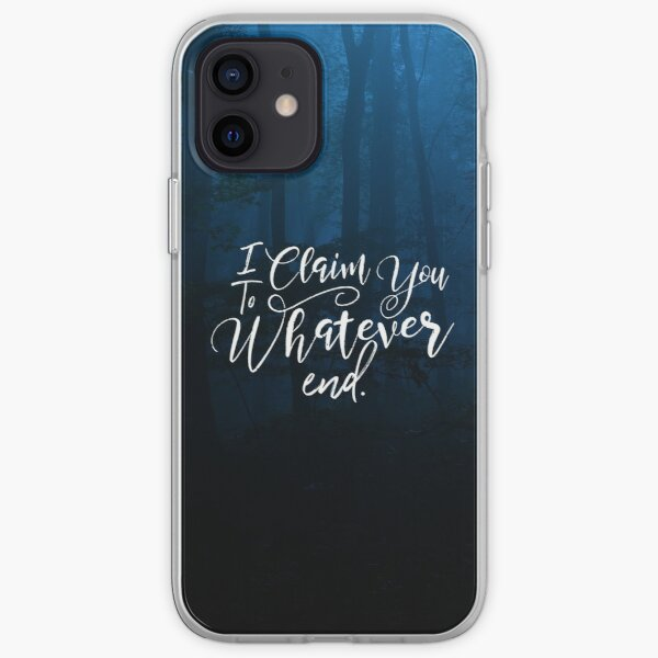 Throne of Glass, To Whatever End, Rowaelin, Heir of Fire iPhone Soft Case