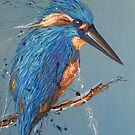 Bird Series -King Fisher by tank