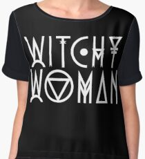 Witchy Woman Women's Chiffon Top