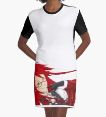 grell sutcliff T-Shirt Kleid
