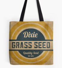 Vintage Sackleinen Dixie Grassamen Sack Tote Bag