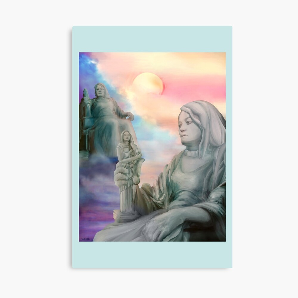 The Contemplation of Injustice Canvas Print