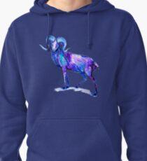 Blue Ram Pullover Hoodie