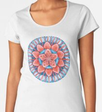 Frosted Cherry Blossom Premium Scoop T-Shirt