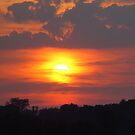 North Carolina Sunset Everyday by RealPainter
