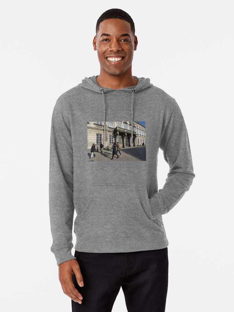 Alternate view of Grand Entrance - Warsaw Poland Lightweight Hoodie
