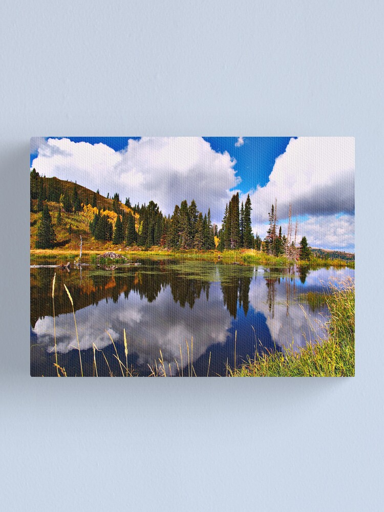 Alternate view of Another View of Paradise Canvas Print