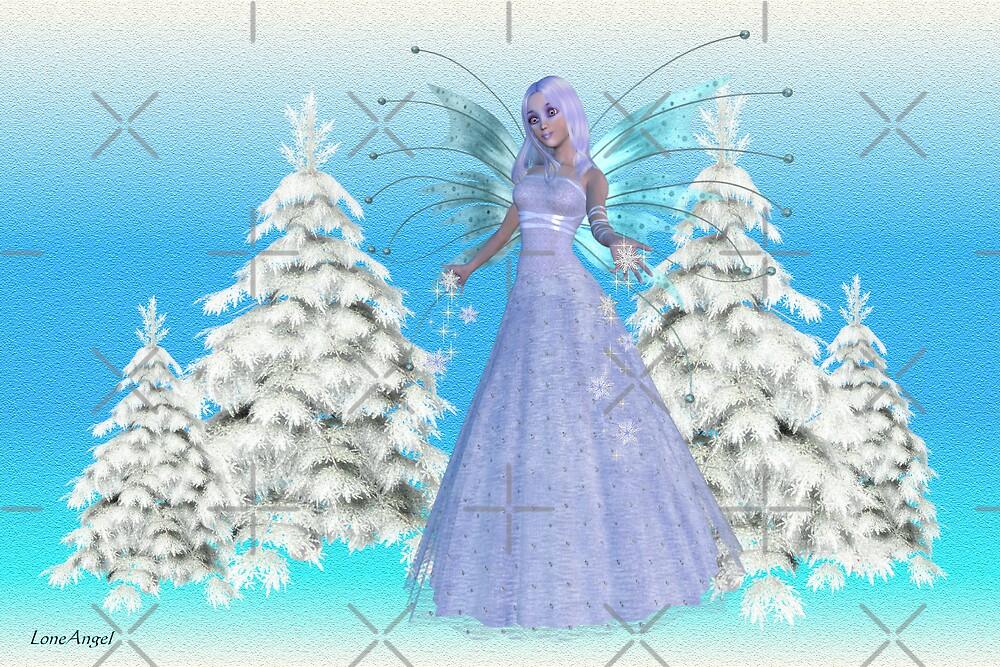 Snowflake Fae by LoneAngel