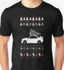 Ugly Christmas sweater for car lover T-Shirt