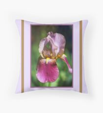 Bright and Glowing Iris Floor Pillow