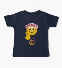 Emoji, Peace Sign. Hippie Flowers, Daisy Wreath Kids Clothes