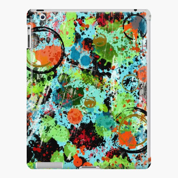 Food Fight Abstract iPad Snap Case