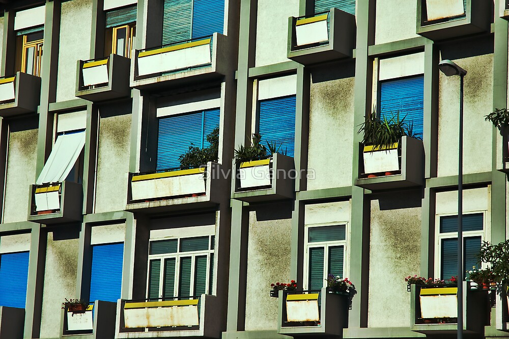 City balconies by Silvia Ganora