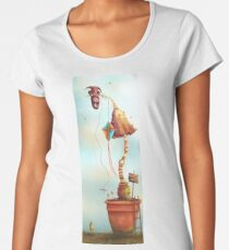 Trolls and Ladders! Women's Premium T-Shirt