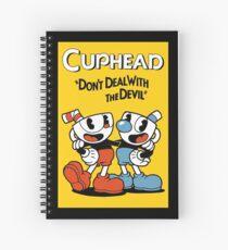 Cuphead  Spiral Notebook