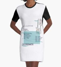 Illuminate Shawn Mendes  Graphic T-Shirt Dress