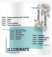 Illuminate Shawn Mendes  Poster