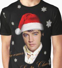 Elvis Presley - Christmas Graphic T-Shirt