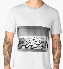GRAFFITEROO black and White Men's Premium T-Shirt