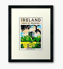 Ireland, land of romance, Blarney Castle and gardens Framed Print