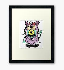 Skate baby Framed Print