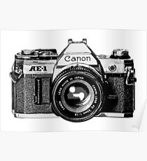 canon ae 1 Poster