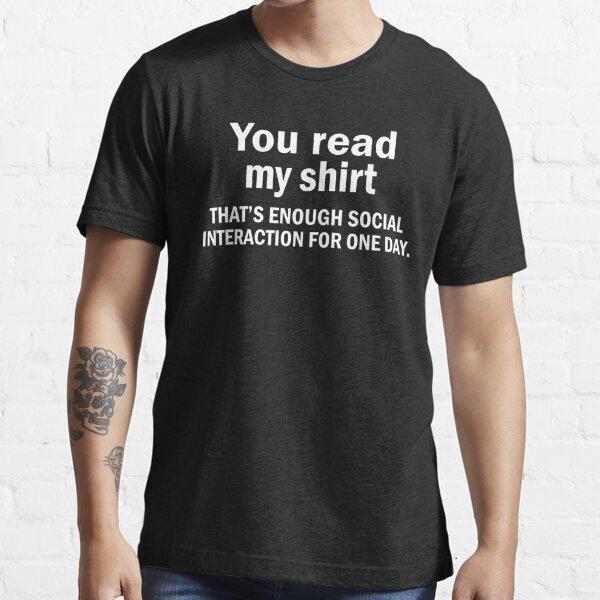 Vous lisez mon paillasson T-shirt essentiel