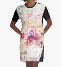 Es gibt kein Entkommen. Mädchen Mädchen Mädchen T-Shirt Kleid