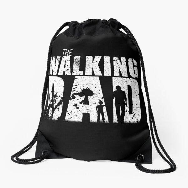 The Walking Dad Cool TV Shower Fans Design Drawstring Bag