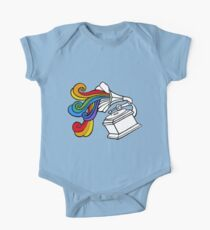Gramophone Rainbow One Piece - Short Sleeve