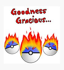 Great Balls On Fire! Photographic Print