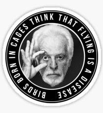 Jodorowsky Engraving Tribute 2 Sticker