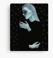 Portrait in the Stars Canvas Print