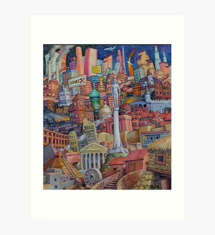Rise of Civilization Art Print