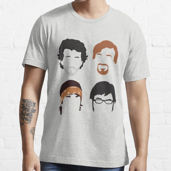 Flight of the Conchords Silly-ettes: 4-up Essential T-Shirt