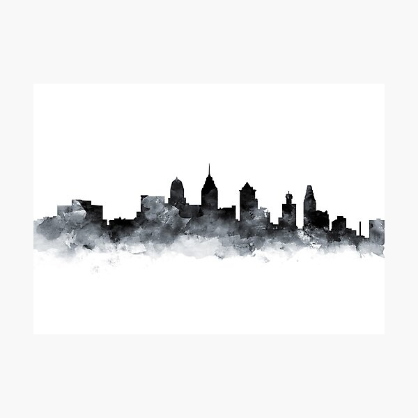 Philadelphia Skyline Photographic Print