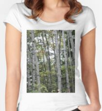 Forest for the Trees  Women's Fitted Scoop T-Shirt