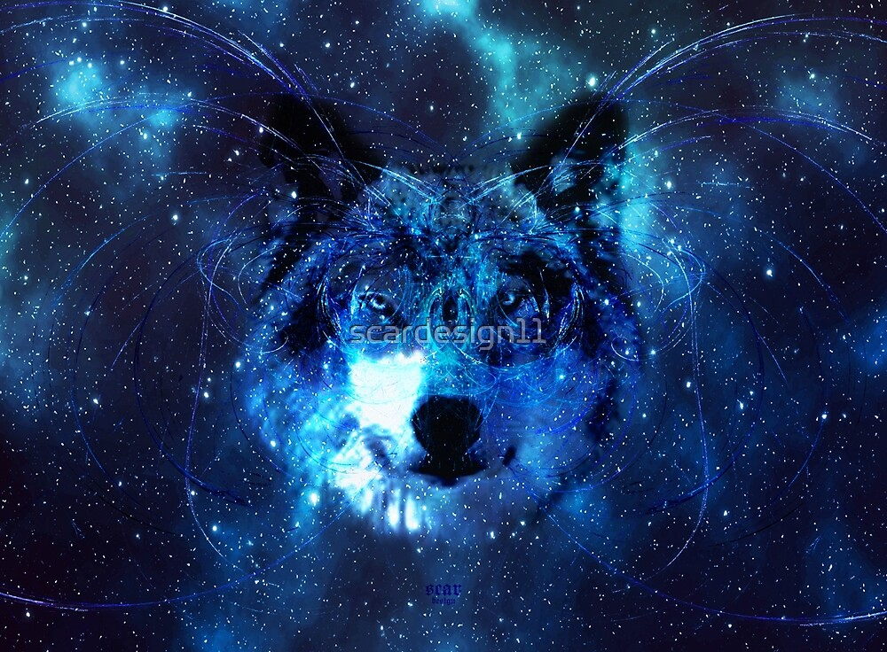 Wolf Spirit by scardesign11