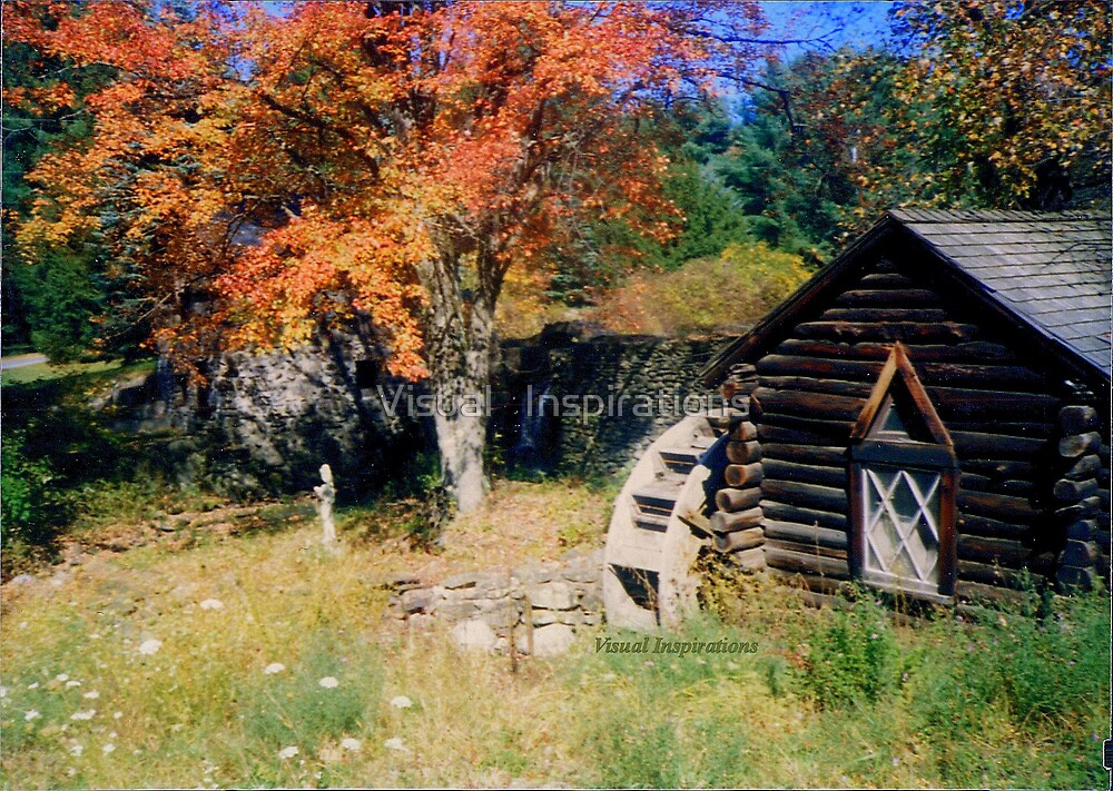 Fall Gristmill by Visual   Inspirations