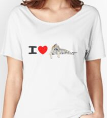 I love Tigers (long) Women's Relaxed Fit T-Shirt