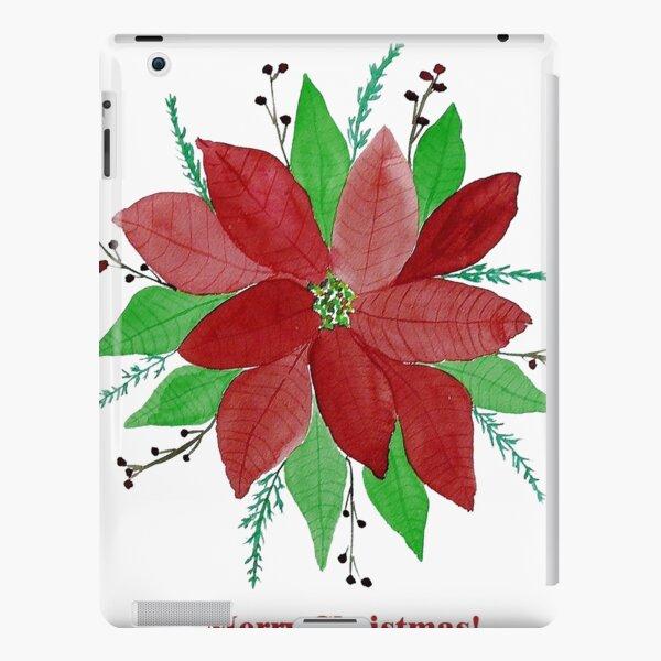 Merry Christmas Card  iPad Snap Case